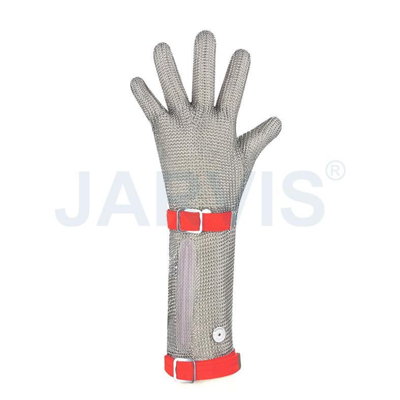 美国 U-SAFE 五指加长  PVC 钢丝手套