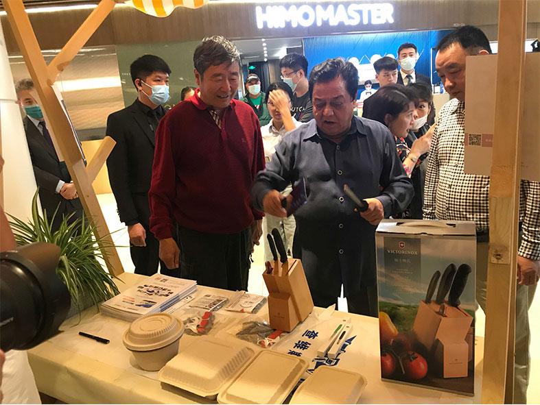 著名相声演员李金斗先生带您逛展会